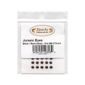 Bilde av Jurasic Eyes 4,0mm 772 Silver/Red