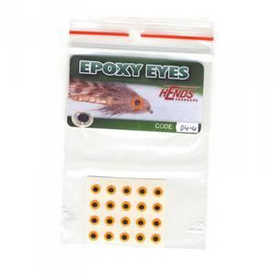 Bilde av Epoxy Eyes 4,0mm 04 fluo orange