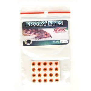 Bilde av Epoxy Eyes 4,5mm 04 fluo orange