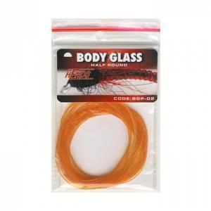 Bilde av Body Glass Half Round 02 orange