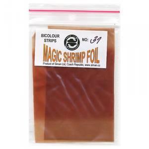 Bilde av Magic Shrimp Foil Bicolor 31 light red brown / dark red brown
